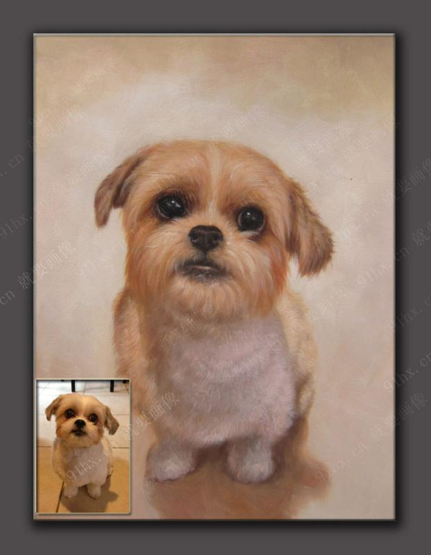 宠物油画定制----给喜欢宠物的自己和亲人的一件永恒的礼物