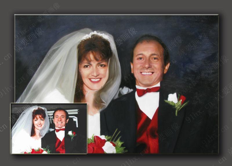 朋友要结婚了,想送他们肖像油画礼物,可是该去哪里找呢?