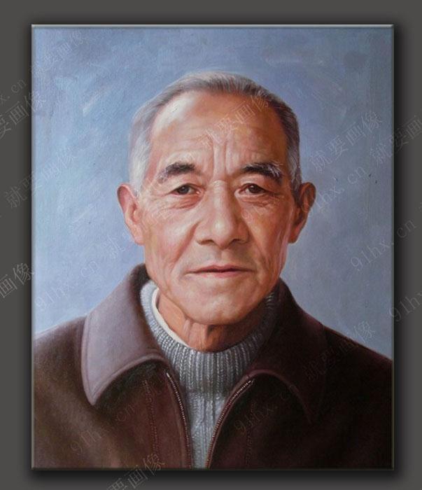 上海哪里有给老人画遗像画油画的地方 上海老人油画