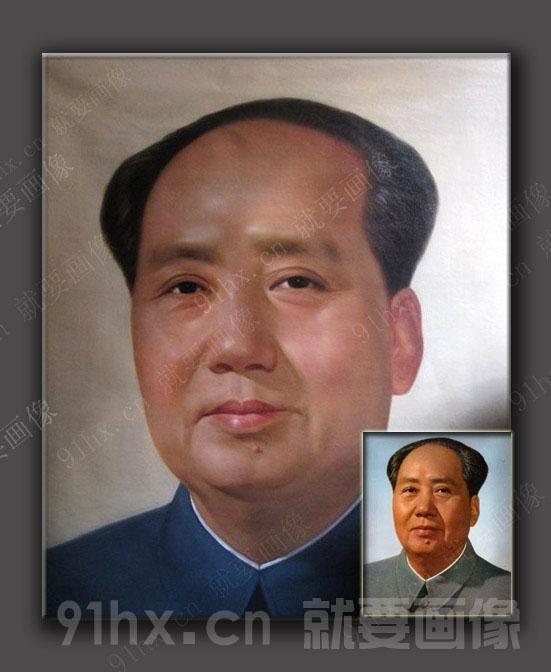 名人肖像油画