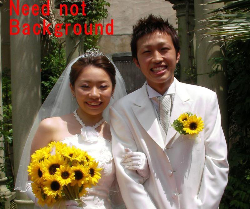 油画婚纱照相片