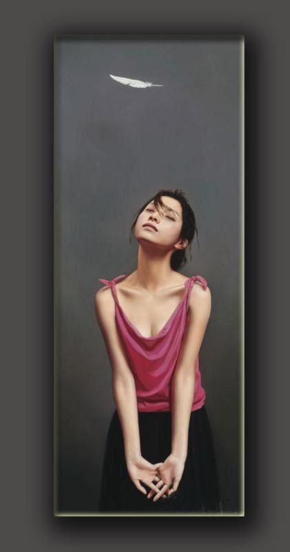 【肖像油画】作品鉴赏-李贵君人物肖像油画作品赏析