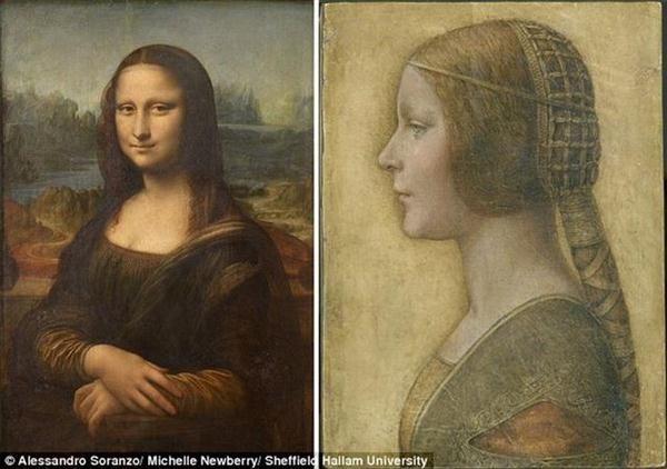 研究达芬奇《美丽公主》解《蒙娜丽莎》微笑之谜      (神秘的地球图片