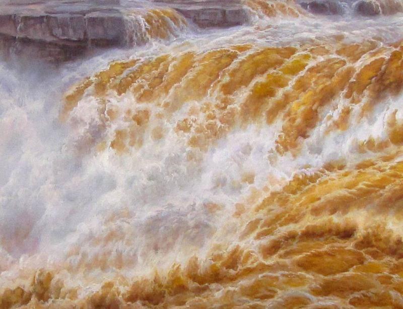 黄河油画-办公室油画-油画定制-就要画像网