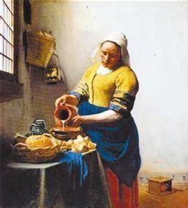学生手绘红绘陶罐