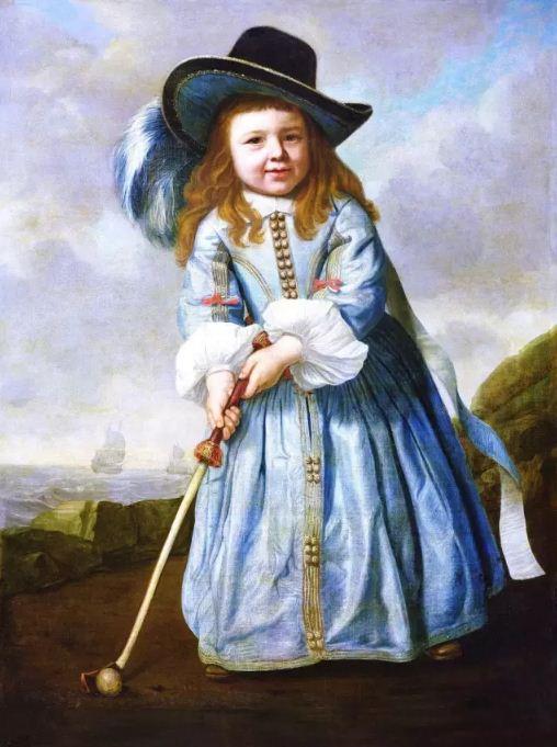 【油画头条】荷兰黄金时代儿童肖像画:如同今天的父母