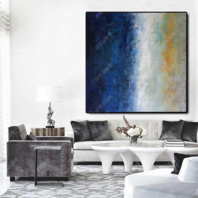客厅油画装饰画