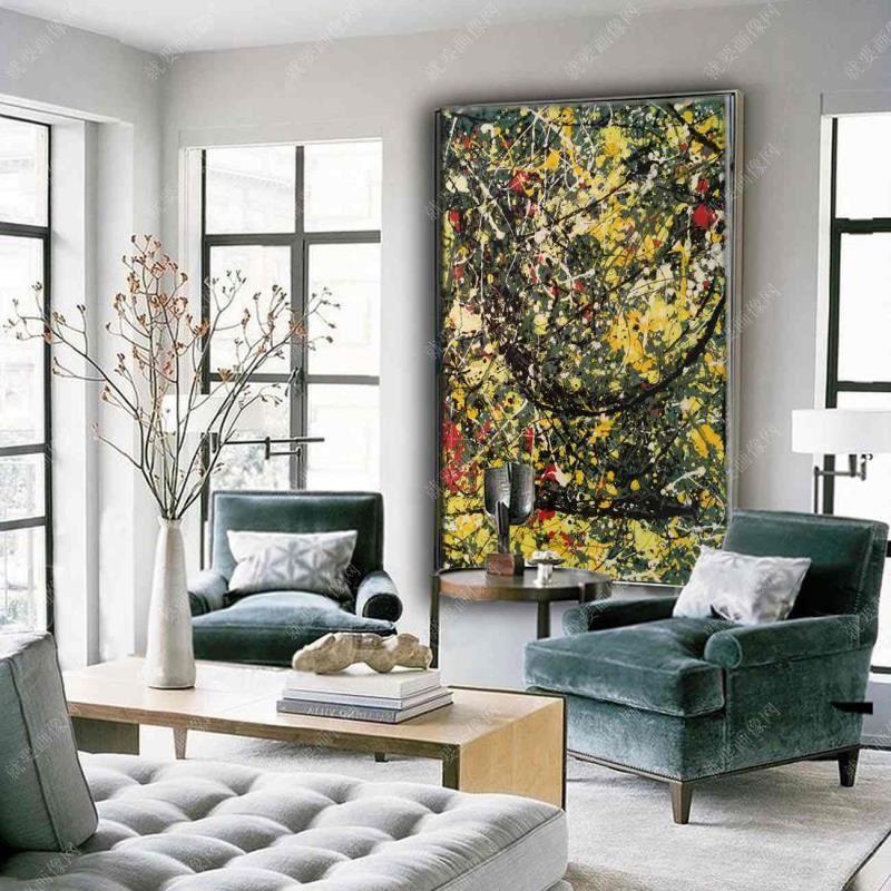 室内油画装饰